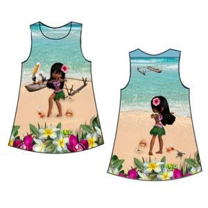 Vaiana lányka ruha készítő csomag