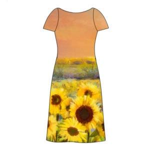 Napraforgós női ruha készítő szett